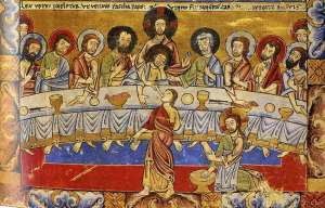12 BRITISH LIBRARY COMMUNION AND WASHING OF F