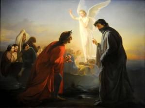 """Domenico Morelli """"Dante e Virgilio nel Purgatorio"""""""