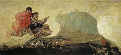 """Francisco Goya """"Asmodea"""" (1820-23)"""