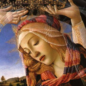 """Sandro Botticelli """"Madonna del Magnificat"""" 1481 - Galleria degli Uffizi"""
