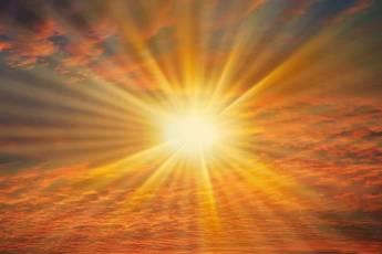 Luce, sole, alba