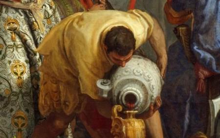 "Paolo Veronese ""Le nozze di Cana"" -1563- Louvre (part.)"