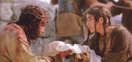 """La Veronica in """"The Passion"""" di Mel Gibson"""
