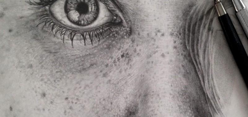 Incredibile capolavoro a matita (dal Web)