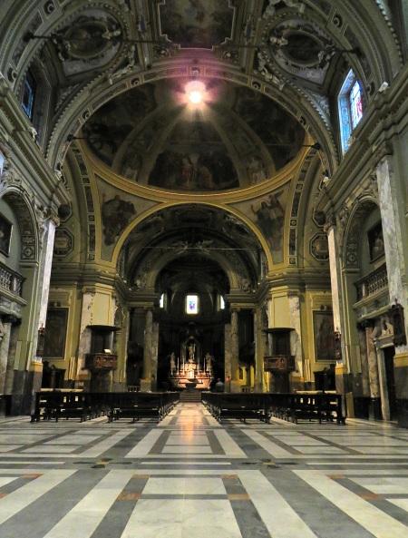 Interno Prepositurale ss. Pietro e Paolo - Saronno.