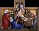 """Rogier Van Der Weyden: """"Deposizione dalla Croce"""" (1433-34) al Prado."""