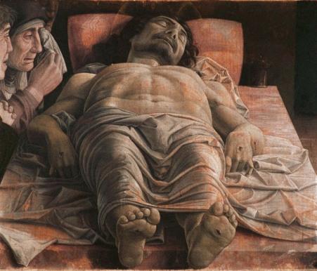 """Mantegna: """"Il Cristo morto"""" - a Brera - è l'opera simbolo per """"ExpoCittà"""" Milano 2016"""