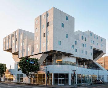 Appartamenti per senzatetto a Los Angeles