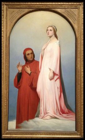 """Ary Scheffer """"Dante e Beatrice"""""""