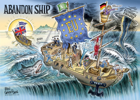 Brexit-Cartoon