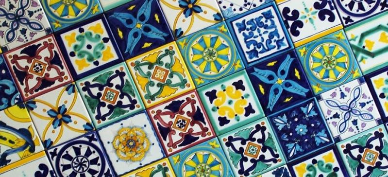 Ceramiche di Vietri.