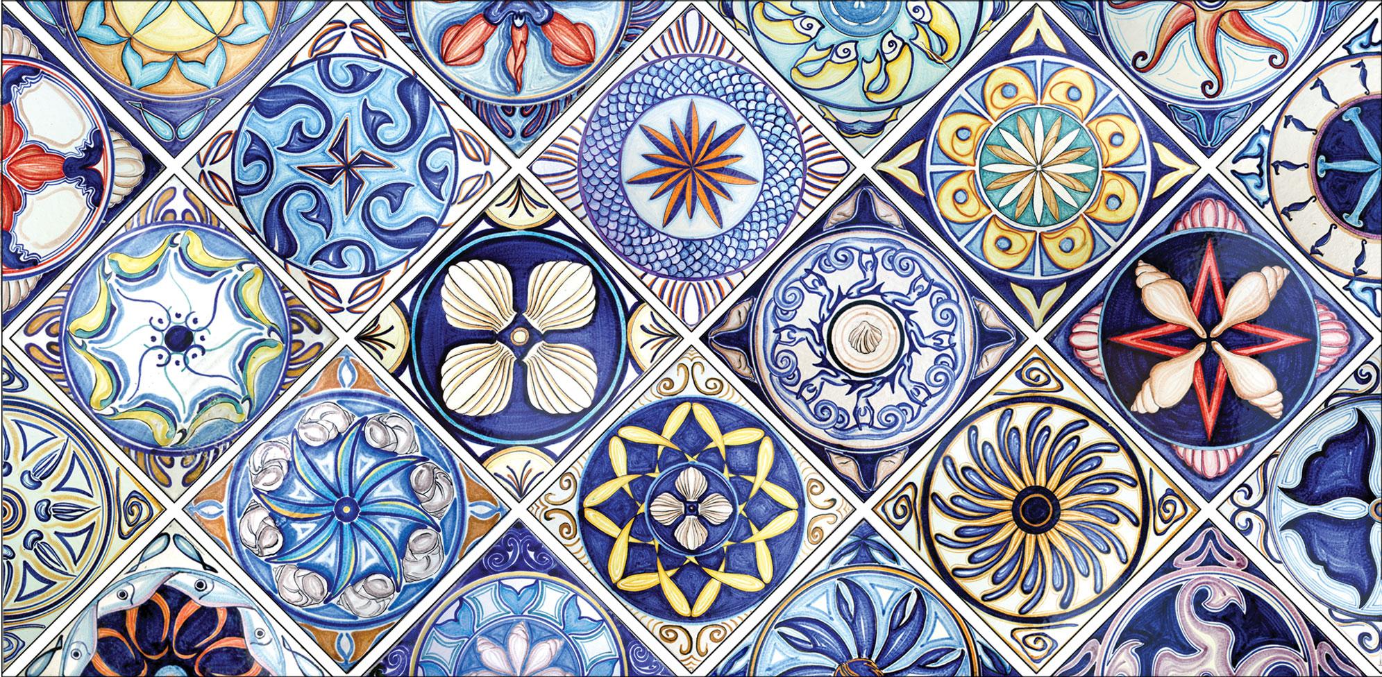 Sala bigliardo betania 39 s bar pagina 3 - Mattonelle in ceramica decorate ...