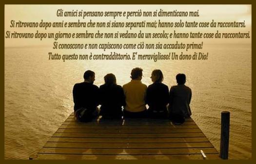 amicizia dono di Dio