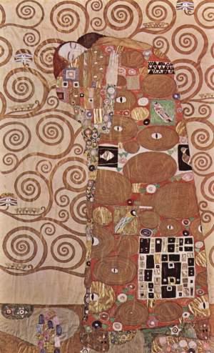 "Gustav Klimt ""L'abbraccio"" 1905 - 1909 . Bruxelles"