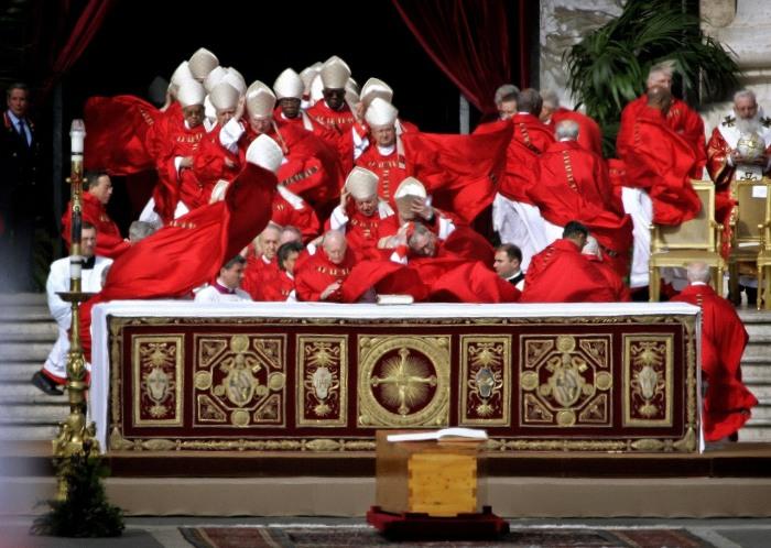La suggestione del Vento ai solenni funerali.
