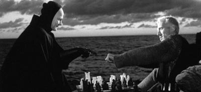 """da """"Il settimo sigillo"""" capolavoro di Ingmar Bergman - 1957"""