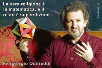 Odifreddi: battezzato dai genitori Piergiorgio ino onore del Beato Piergiorgio Frassati.