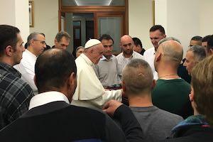 I carcerati di Padova incontrano Papa Francesco.