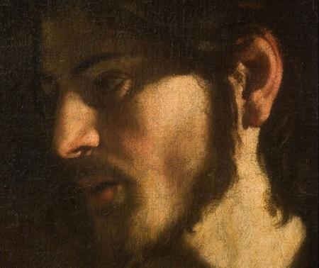 """Caravaggio """"Vocazione di Matteo"""" (part. 1599 ca.)"""